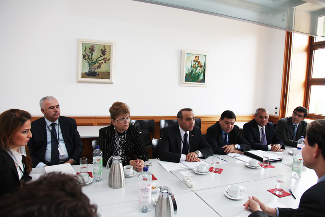 Azerbaijani MP discusses Nagorno-Karabakh conflict in German Foreign Ministry (PHOTO) - Gallery Image