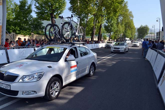 Tour d'Azerbaidjan-2014 cycle race third stage starts (PHOTO) - Gallery Image
