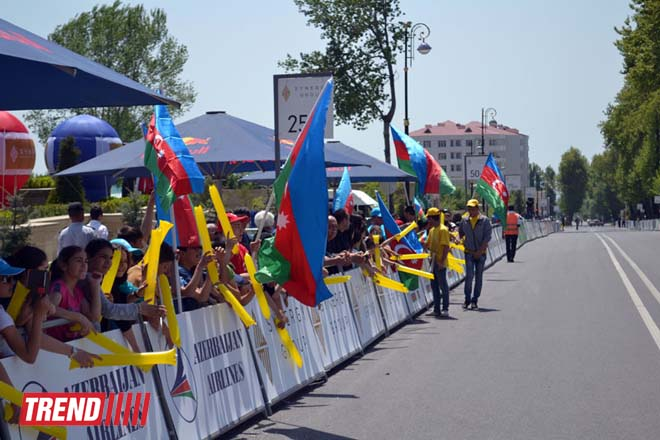 Third stage of Tour d'Azerbaidjan-2014 cycle race ended (PHOTO) - Gallery Image