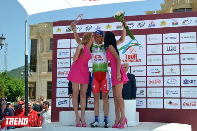 """""""Tour d'Azerbaidjan-2014"""" veloyürüşünün üçüncü mərhələsinə yekun vurulub (ƏLAVƏ OLUNUB)(FOTO) - Gallery Image"""