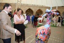 "Leyla Aliyeva attendes closing ceremony of 5th International Art Festival ""Maiden Tower"" - Gallery Thumbnail"