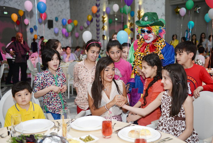 Leyla Aliyeva attends event on festivities for children at orphanages and boarding schools - Gallery Image