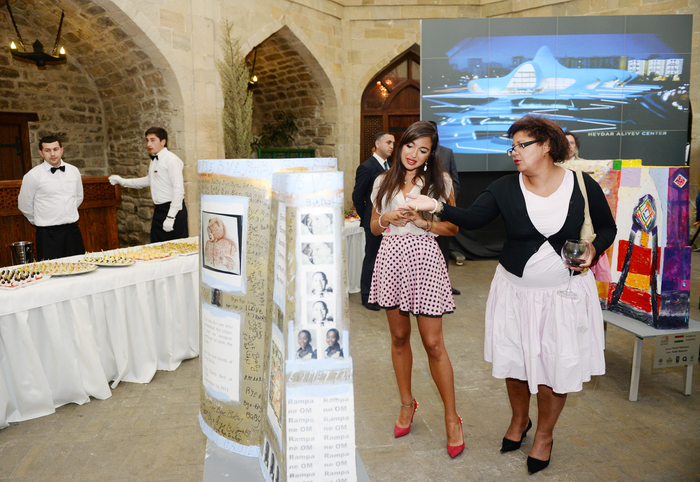 "Leyla Aliyeva attendes closing ceremony of 5th International Art Festival ""Maiden Tower"" - Gallery Image"