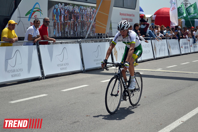 Stage 4 of Tour d'Azerbaidjan-2014 cycling race ended - Gallery Image