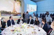 Azərbaycan Prezidenti İlham Əliyev və Fransa Prezidenti Fransua Olland birgə nahar ediblər (FOTO) - Gallery Thumbnail