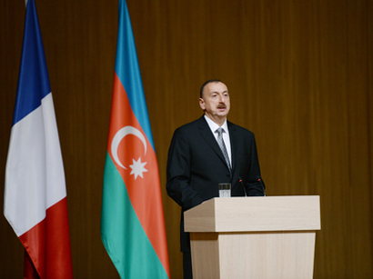 President Aliyev: Azerbaijani-French relations to develop progressively in future (PHOTO)