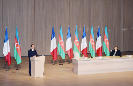 President Aliyev: Azerbaijani-French relations to develop progressively in future (PHOTO) - Gallery Image