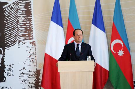 Франсуа Олланд: В Азербайджане очень высокий уровень экономического развития  (ФОТО) - Gallery Image