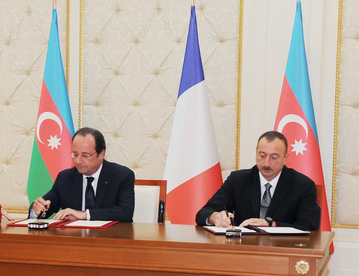 Azerbaijan, France sign seven intergovernmental documents (PHOTO) - Gallery Image