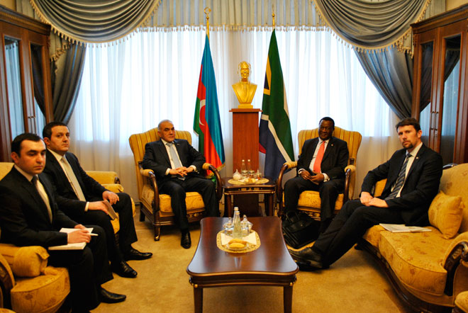 Azerbaijan, South African Republic discuss prospects for military cooperation