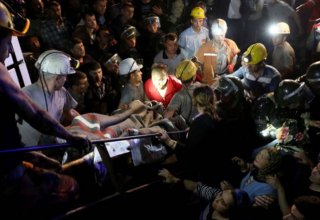 Turkey marks first anniversary of Soma disaster