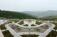 Azerbaijani president attends opening of five-star hotel in Shamakha district (PHOTO) - Gallery Thumbnail