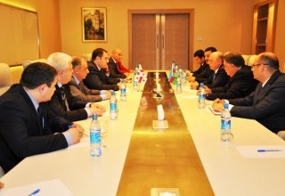 Azerbaijani minister of emergency situations meets with Georgian interior minister