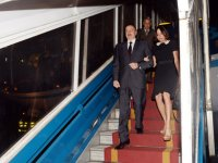 President Ilham Aliyev arrived in Vietnam on a state visit (PHOTO) - Gallery Thumbnail