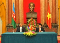 Presidents of Azerbaijan and Vietnam make statements for press (PHOTO) - Gallery Thumbnail