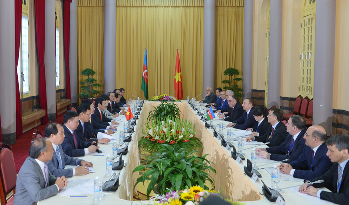 Azerbaijani and Vietnamese leaders meet in expanded format (PHOTO) - Gallery Image