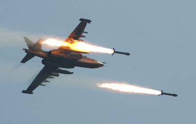 10 IS militants killed in U.S.-led coalition airstrike in northern Iraq