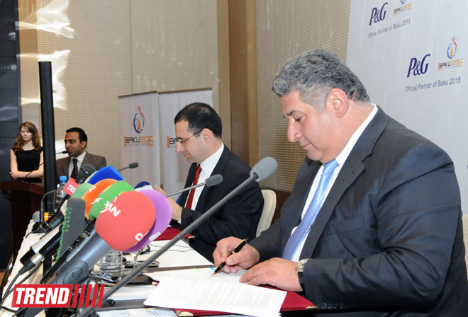 Baku 2015 European Games announces Procter & Gamble as first official partner (PHOTO) - Gallery Image