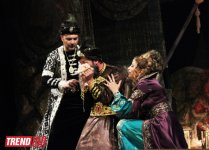 """Потрясающая премьера спектакля """"Амир Теймур"""" на основе исторической драмы Гусейна Джавида - на сцене Аздрамы (ФОТО) - Gallery Thumbnail"""