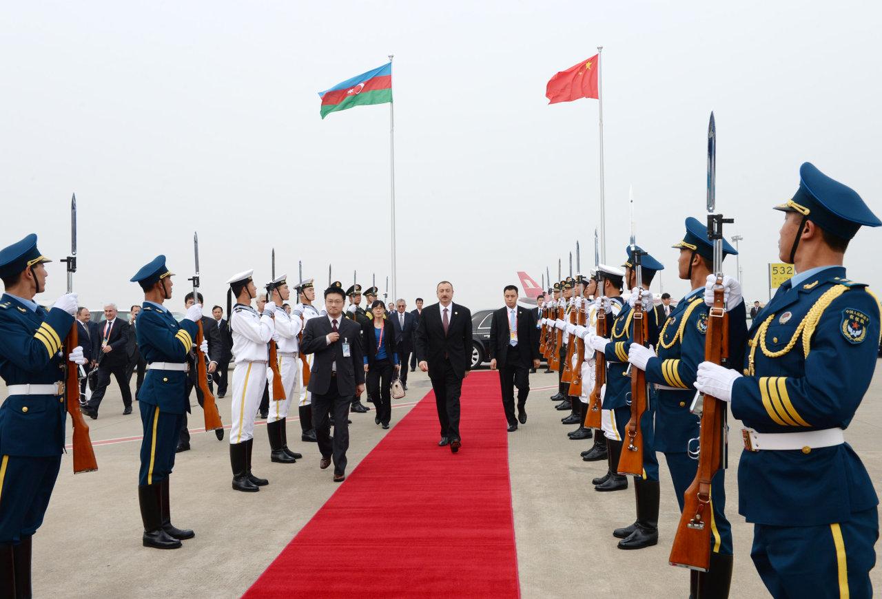 Завершился рабочий визит Президента Азербайджана в Китай (ФОТО) - Gallery Image