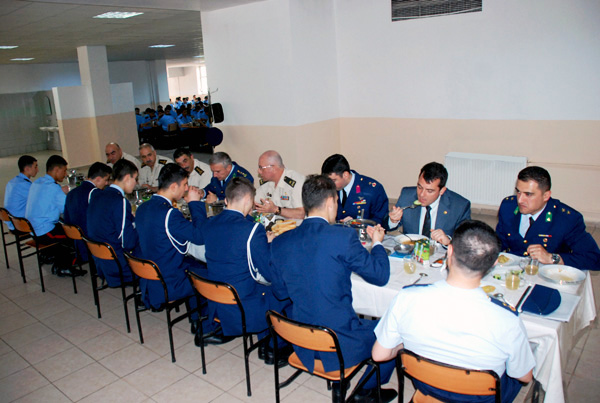 Delegation of Turkish military lyceum visits Azerbaijan (PHOTO) - Gallery Image