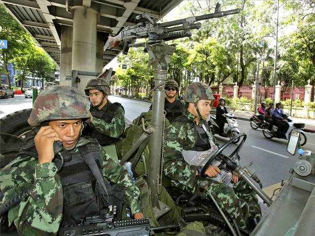 Thai army takes control of government, says army chief