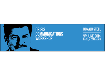 Crisis Communications Workshop With Donald Steel in Baku - Gallery Image