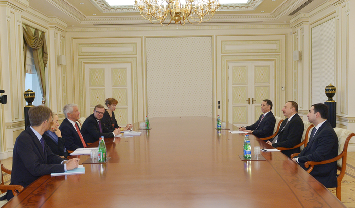 Azerbaijani president receives Secretary General of Council of Europe - Gallery Image