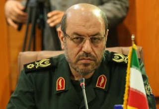 Iran's defense minister to visit Baku