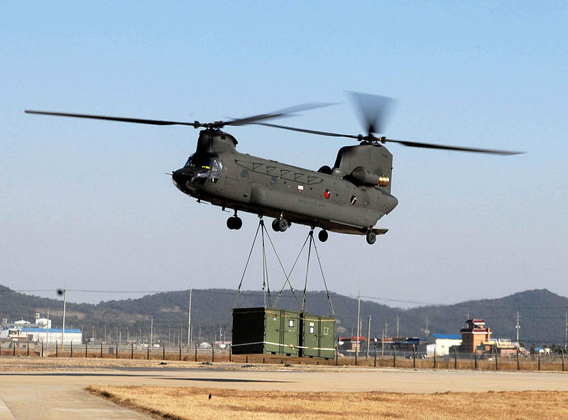 Iran unveils simulators of Boeing CH-47 Chinook and TOW rockets