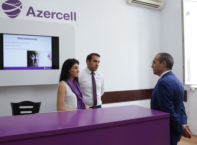 Azercell joins another labor fair (PHOTO) - Gallery Image