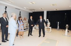 President Aliyev and spouse attend opening of Azerbaijan's new sports medicine institute - Gallery Thumbnail