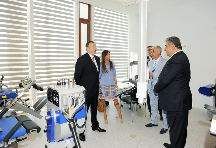 President Aliyev and spouse attend opening of Azerbaijan's new sports medicine institute - Gallery Image