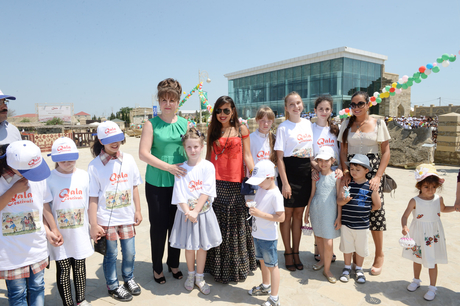 Azerbaijan's First Lady attends cultural events in Baku (PHOTO) - Gallery Image