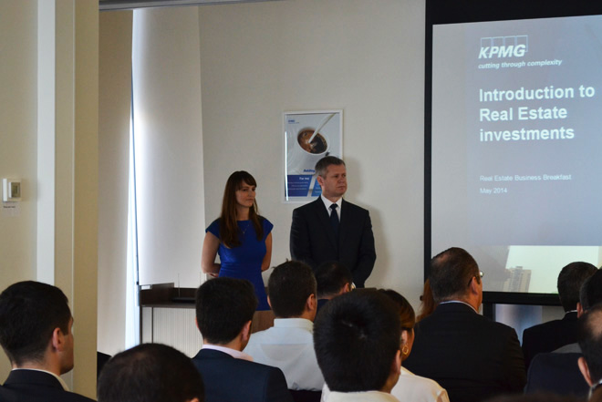 KPMG's office in Baku successfully hosted business event for construction companies - Gallery Image