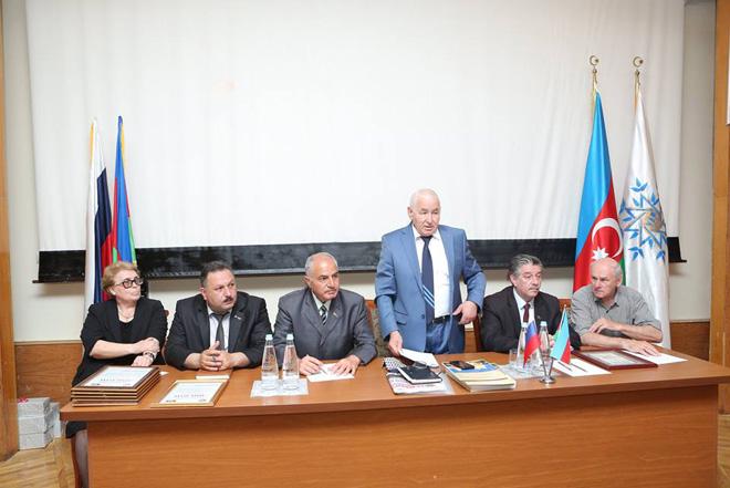 Qərb regionu üzrə Rus icmasının konfransı keçirilib (FOTO)