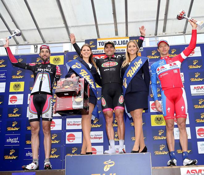 Azərbaycanın velosiped komandasının üzvü beynəlxalq turnirdə 3-cü yeri tutub (FOTO)