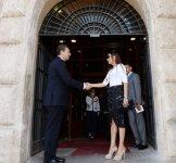 Azerbaijani First Lady Mehriban Aliyeva meets Rome Mayor (PHOTO) - Gallery Thumbnail