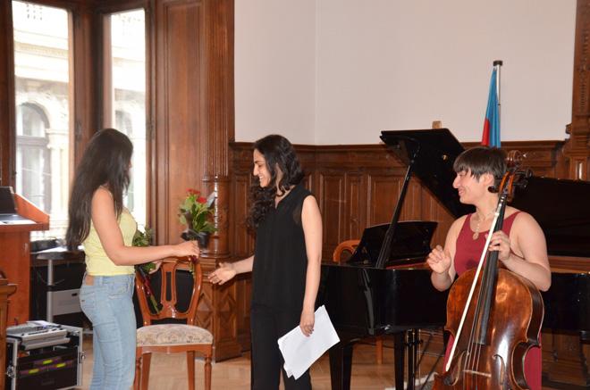 В Будапеште состоялся вечер азербайджанской и корейской музыки (ФОТО) - Gallery Image