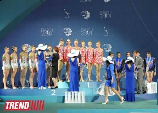Azərbaycan gimnastları Avropa çempionatında komanda yarışlarında altıncı olublar - Gallery Image