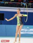 Azerbaijani gymnast wins 2nd place in individual performances with hoop (PHOTO) - Gallery Thumbnail