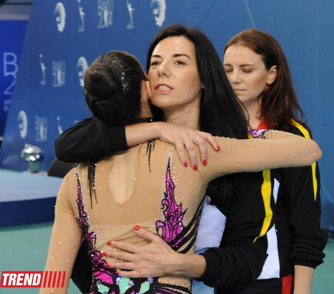 Bolqarıstan komandası Avropa çempionatında gürzlə hərəkətlərdə birinci olub  (FOTO) - Gallery Image