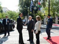 Official welcoming ceremony for President Ilham Aliyev was held in Athens (PHOTO) - Gallery Thumbnail