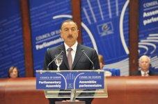 Prezident İlham Əliyev: Azərbaycanda bütün azadlıqlar təmin edilir (FOTO) - Gallery Thumbnail