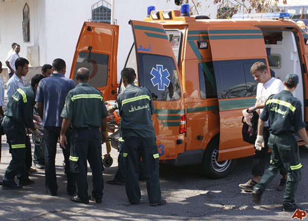 Vehicle catches fire in Cairo, explosion heard