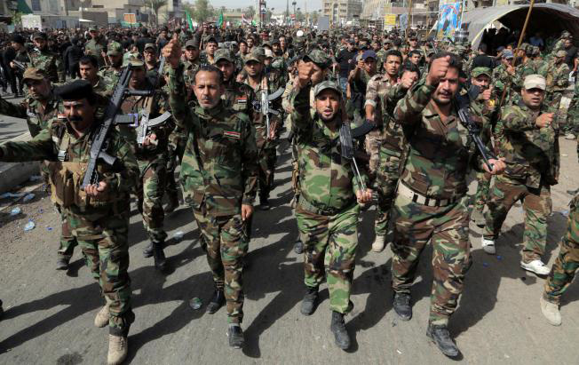 Iraqi Sunni groups armed against terrorists in country