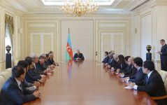 President Aliyev receives ambassadors, heads of diplomatic missions of Muslim countries - Gallery Thumbnail