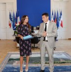 Azerbaijan's first lady meets with Cannes mayor (PHOTO) - Gallery Thumbnail
