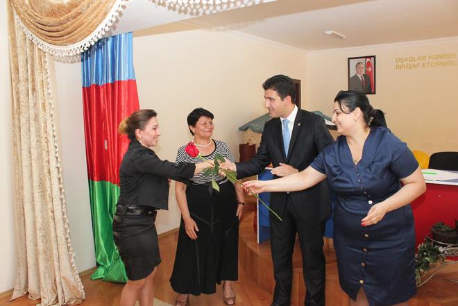 Yeni ərazi ilk partiya təşkilatı təsis olunub (FOTO)