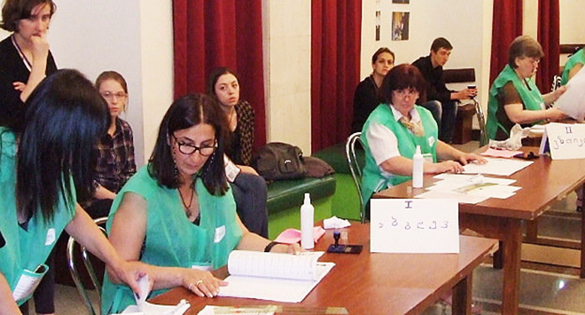 CEC: Over 28% of voters take part in Georgian municipal elections as of 17:00